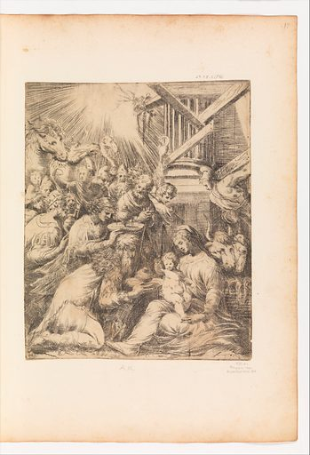 Adoration of the Magi (ca. 1553–60 ?). Accession number: 27.78.2(56).