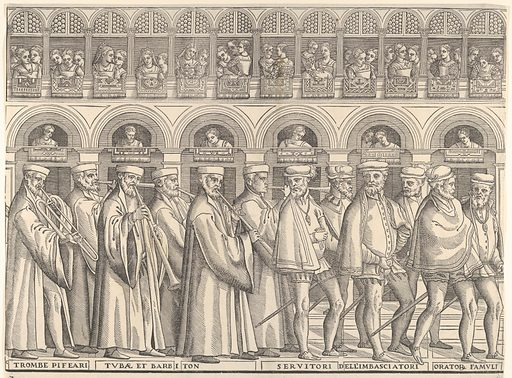 Procession of the Doge in Venice (1556–61). Accession number: 49.95.139(a-h).