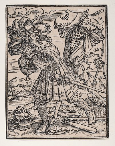 The Count, from The Dance of Death (ca. 1526, published 1538). Accession number: 19.57.31.