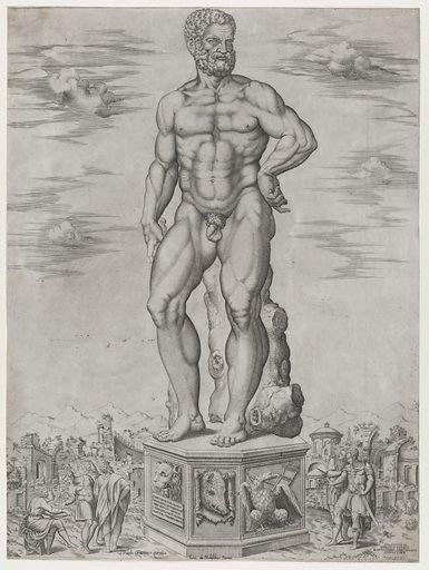 Speculum Romanae Magnificentiae: Hercules Colossus at Padua (L