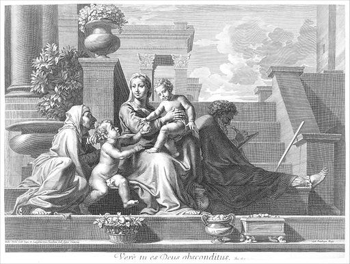 Holy Family on the Steps (1668). Accession number: 53.600.1139.
