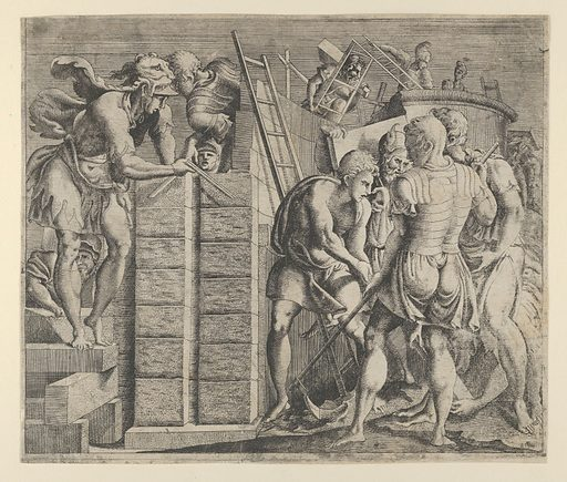 Cadmus Building Thebes (ca 1542–45). Accession number: 49.50.221.