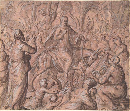 Christ's Entry into Jerusalem (1611). Accession number: 2004.288.