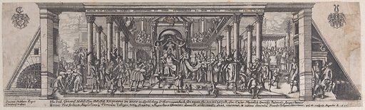 The Queen of Sheba before Solomon (1631). Accession number: 62.602.656.