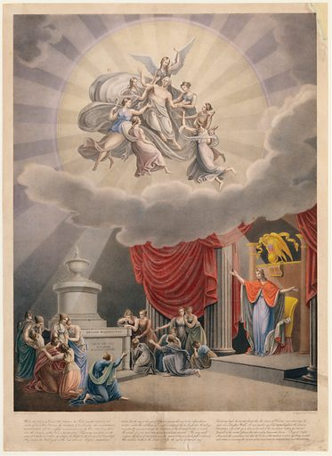 Apotheosis of George Washington (1830–50). Accession number: 52.585.66.