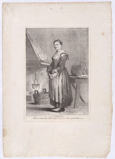 The Cook (1775). Accession number: 2004.238.