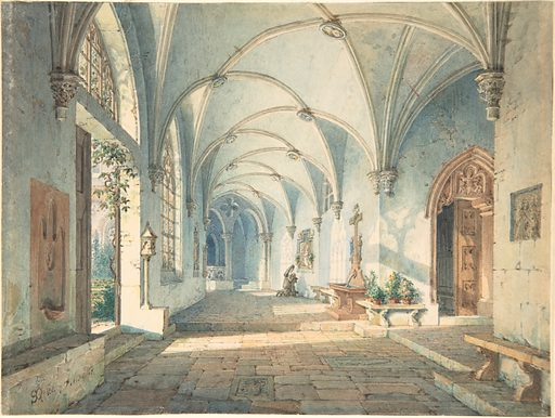 Cloisters in a Nunnery (ca. 1835). Accession number: 2004.378.