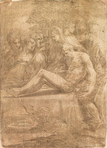 Entombment (ca. 1545–50). Accession number: 27.78.2(65).