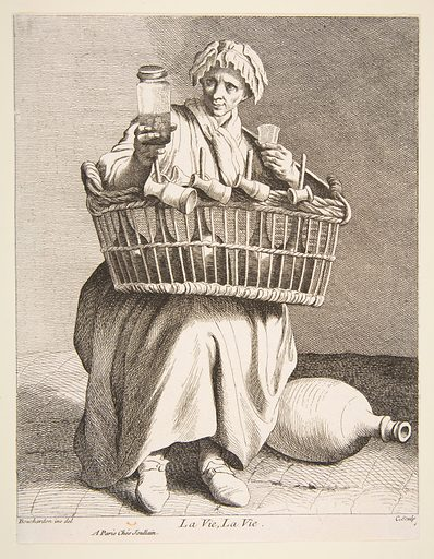 Brandy Seller (1737). Accession number: 53.600.588(7).