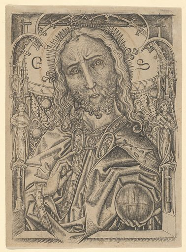 The Savior (mid-15th century). Accession number: 41.1.175.