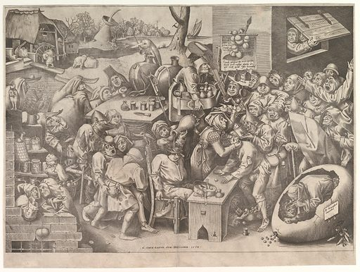 The Stone Operation or the Witch of Mallegem (1559). Accession number: 30.54.33.