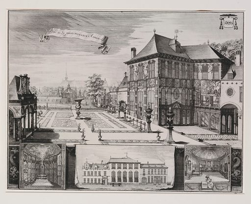 View of the Garden of the Rubenshuis, Antwerp (1675–1732). Accession number: 51.501.7503.