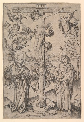 The Crucifixion with Four Angels (ca. 1435–1491). Accession number: 17.37.62.