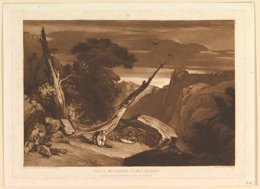 From Spenser's Fairy Queen (Liber Studiorum, part VII, plate 36) (June 1811). Accession number: 83.169.
