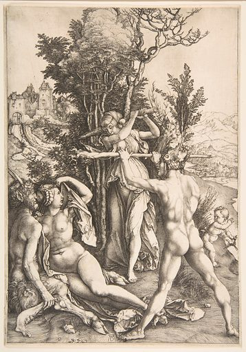 Hercules at the Crossroad. Date: ca 1498. Accession number: 197384.