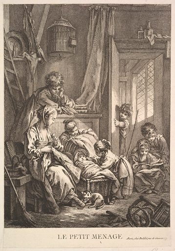 The Small Household. Date: mid to late 18th century. Accession number: 536001047.