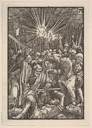 The Arrest of Christ, from The Fall and Salvation of Mankind Through the Life and Passion of Christ (ca 1513). Accession number: 20.11.26.
