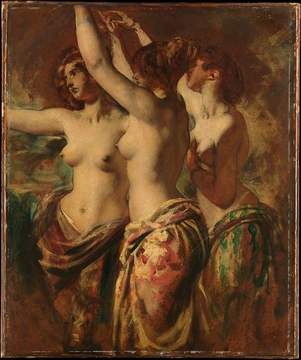 The Three Graces. Date. Accession number: 0531.