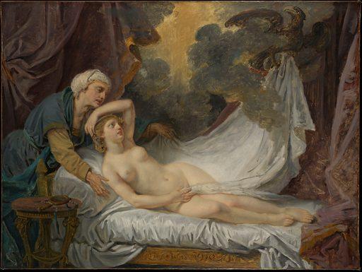 Aegina Visited by Jupiter. Date: ca 1767–69. Accession number: 1970295.