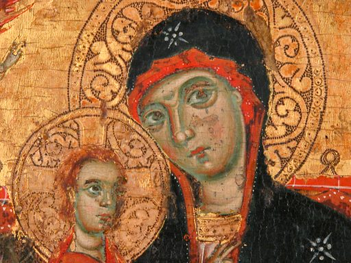 Madonna and Child Enthroned. Accession number: 41.100.8.