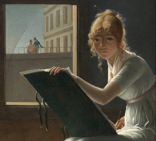 Marie Joséphine Charlotte du Val d'Ognes (1786–1868). Date: 1801. Accession number: 17120204.