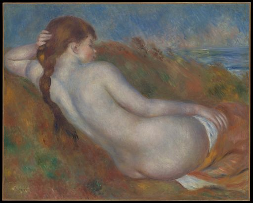 Reclining Nude. Date: 1883. Accession number: 20032012.