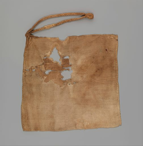 Bag (7th century). From Thebes, Egypt. Accession number: 14.1230.