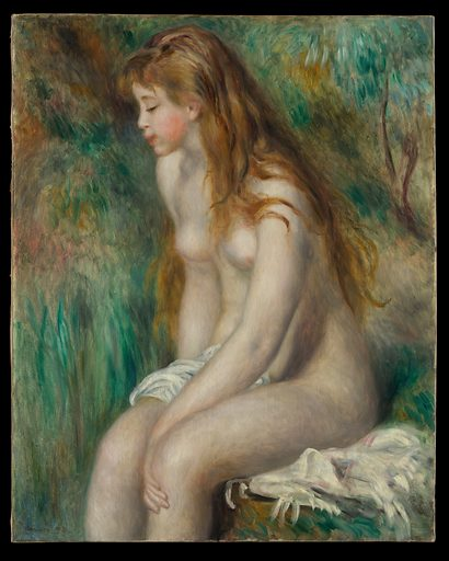 Young Girl Bathing. Date: 1892. Accession number: 19751199.