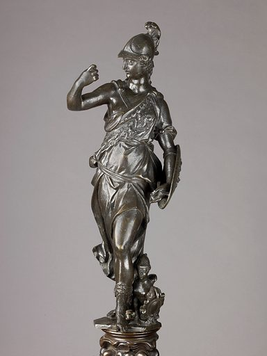 Andiron (17th century or later). Accession number: 1975.11388a, b.