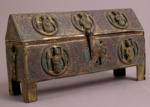 Chasse (13th century). French. Made in Limoges, France. Accession number: 32.100.287.