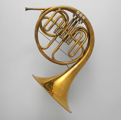 Horn in F Date: ca 1860. Linz, Austria. Accession number: 2003340.