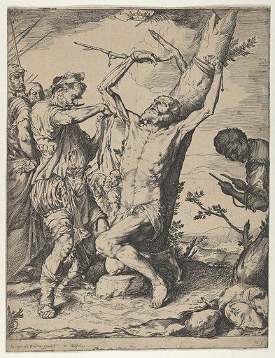The Martyrdom of Saint Bartholomew (ca 1625–1640). Accession number: 47.100.794.