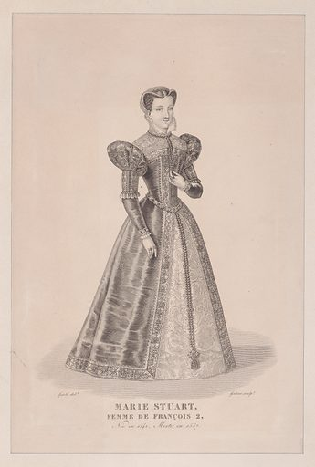Mary, Queen of Scots. Date: early 19th century. Accession number: 58549142.