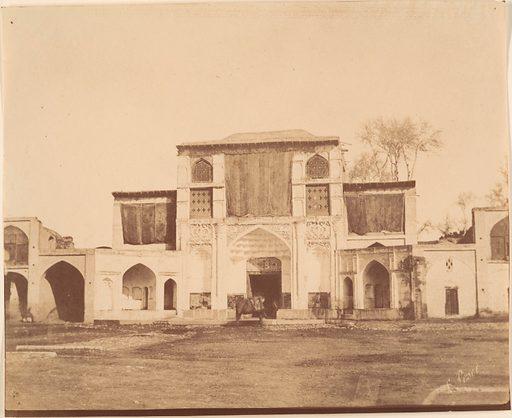 [The Sublime Porte, Teheran, Iran]. Date: 1840s–60s. Accession number: 197768315.