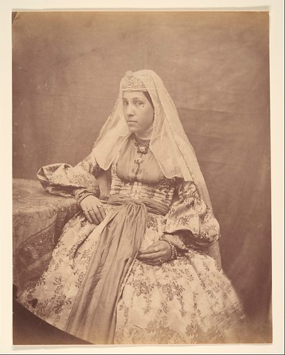 [Armenian Woman of Teheran]. Date: 1840s–60s. Accession number: 197768320.