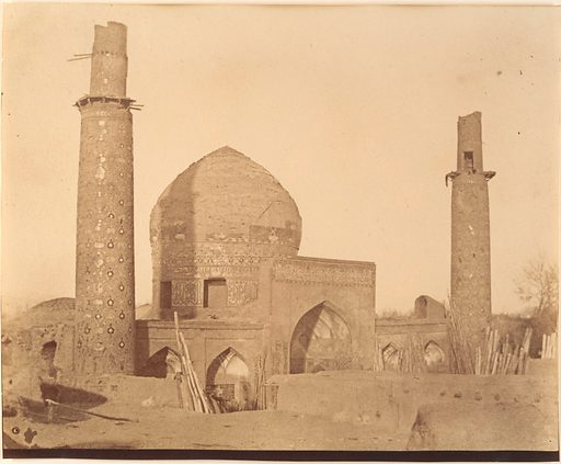 [Mosque of the Shah]. Date: 1840s–60s. Accession number: 197768336.