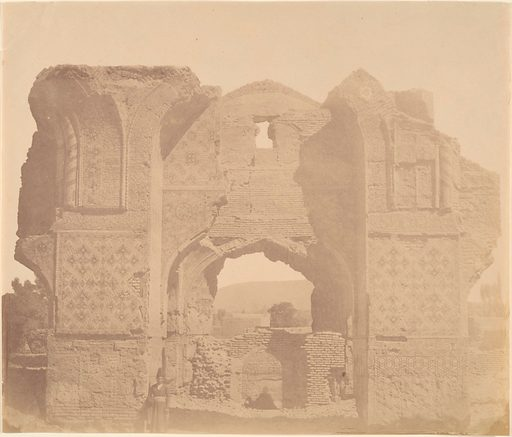 [Blue Mosque of TABRIZ, 1465.]. Date: 1840s–60s. Accession number: 197768343.