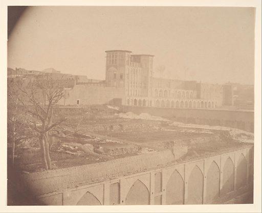 [View of Kermanshah, Capital of Kurdistan]. Date: 1840s–60s. Accession number: 197768348.