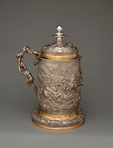 Tankard (one of a pair). Date: 1824–25. Accession number: 20171771.
