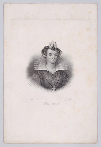 Mary, Queen of Scots. Date: first half 19th century. Published in Paris, France. Accession number: 58549133.
