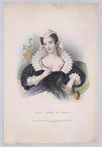 Mary, Queen of Scots. Date: 1830s. Published in London, England. Accession number: 58549115.