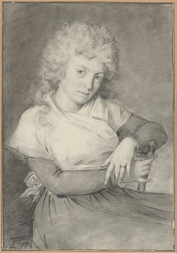Portrait of a Woman. Date: ca1793–1800. Accession number: 20142712.