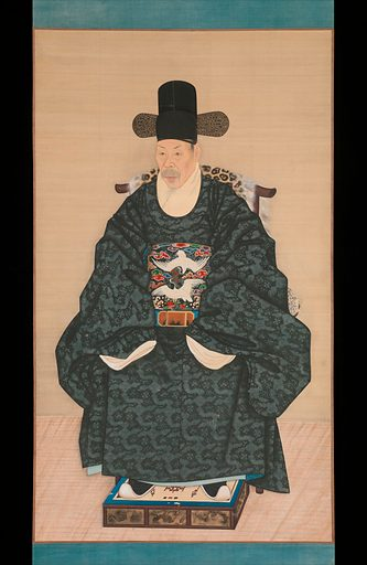 Portrait of Yun Dongseom (1710–1795). Date: ca 1790–1805, Joseon dynasty (1392–1910). Korea. Accession number: 2014605.