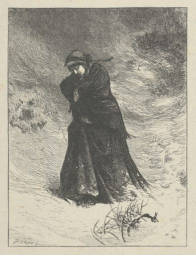 """Love in Death, for """"Good Words"""". Date: March 1862. Accession number: 20145452."""