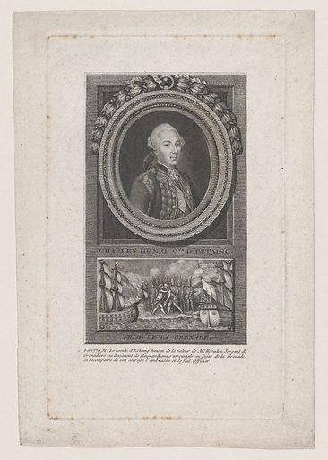 Portrait of Charles Henri, Comte D'Estaing (1779). Accession number: 24.90.623.