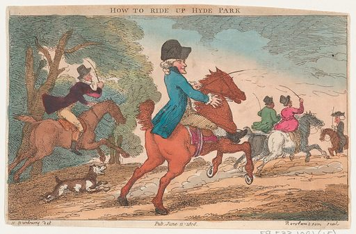 How to Ride Up Hyde Park