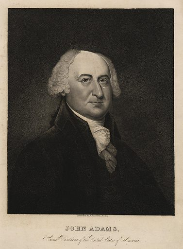 John Adams, second President of the United States of America. Date: 1826. Origin: Boston. Collection: Emmet Collection of Manuscripts Etc. Relating to American History, The members of the Continental Congress, 1774–1789, Massachusetts delegates. Image ID: 420012.