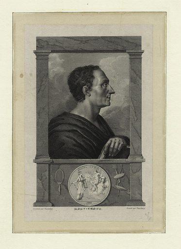 Charles de Secondat, baron de Montesquieu. Date: 1850. Origin: [Paris]. Collection: Emmet Collection of Manuscripts Etc. Relating to American History, The Continental Congress of 1774. Image ID: 419940.