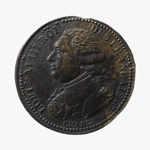 """""""Paix et Commerce"""", avril 1814. Date de création: 1814. Numéro d'object: CARND03853."""