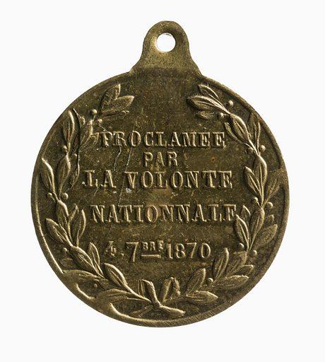 Proclamation de la République, le 4 septembre 1870. Date de création: 1870. Numéro d'object: CARND10870.
